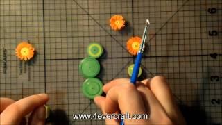 Мастер-класс: Кактус в технике квиллинг(видео урок о том, как сделать кактус в технике квиллинг http://www.4evercraft.com/