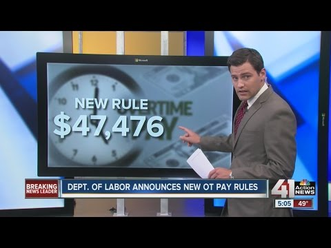 Obama updates overtime laws to cover 4 million more workers