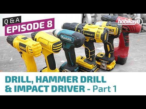 Q&A / Tanya Jawab HobiKayu Ep. 8 - Cordless Drill & Driver