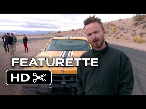Need For Speed Featurette - Driving School (2014) - Aaron Paul Movie HD