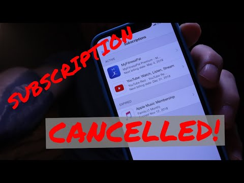 How to cancel app subscription on iPhone | Quick Tutorial