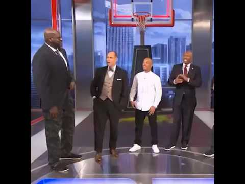 The Exact Moment Shaq Finds Out Ernie Johnson Voted For Steve Nash Over Him