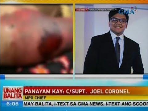 UB: Panayam kay C/Supt. Joel Coronel, MPD Chief
