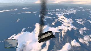 gta 5 falling from space