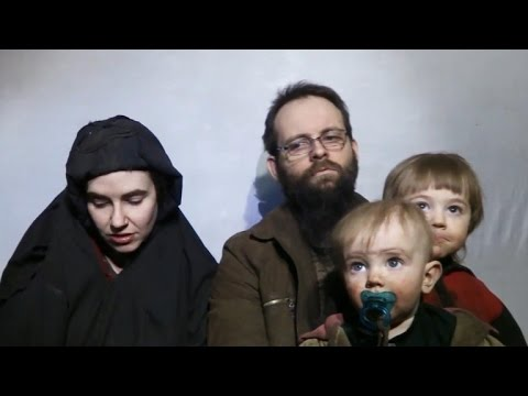 New Taliban video shows abducted family's plea