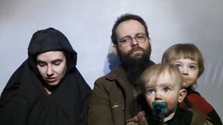 New Taliban video shows abducted family
