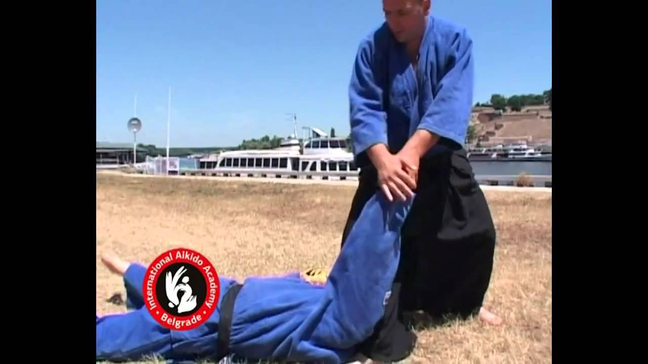 Aikido techniques by Bratislav Stajic: Shomenuchi irimi nage