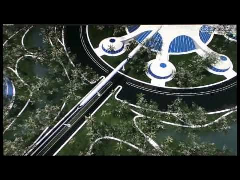 3D Animations of a Venus Project city design.