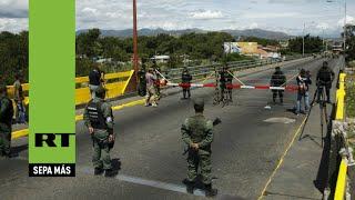 Venezuela decreta el estado de excepción en la frontera con Colombia