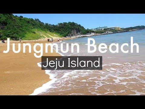 Jungmun Beach 중문 해변 - Jeju Island Korea