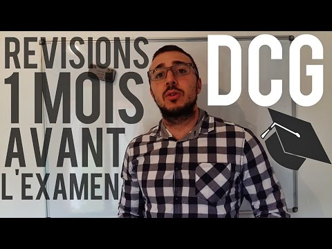 DCG - RÉVISIONS 1 MOIS AVANT L'EXAMEN !