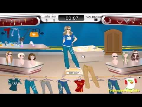 Game thời trang nữ - Trò chơi chọn trang phục siêu mẫu thời trang