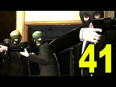 Grand Theft Auto 4 - Part 41 - BANK ROBBERY (Let's Play / Walkthrough / Guide)