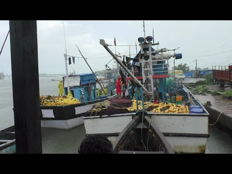 Some Fishing Trawlers Stranded In Deep Sea Because Of Bad Weather