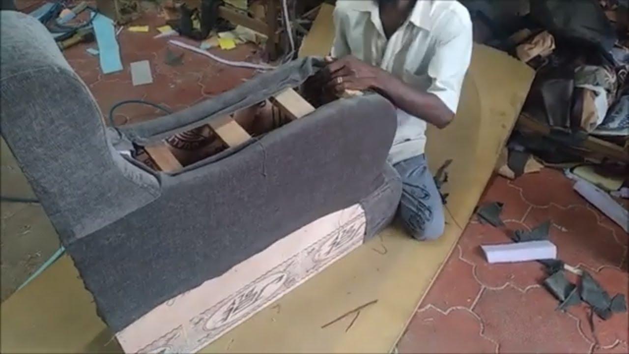 How To Make Sofa Handle Wood Finishing Making Video   Sofa Handle Making Step By Step Video   Sofa - YouTube