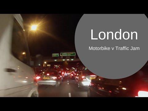Motorcycle v London Traffic - Woolwich Ferry & Blackwall Tunnel