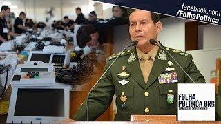 URGENTE: General Mourão convoca reservistas para que fiscalizem as eleições e o sistema eleitoral