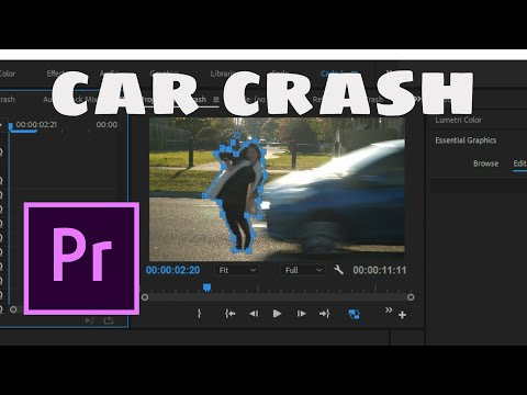 How to create a FAKE CAR ACCIDENT in Adobe Premiere Pro CC