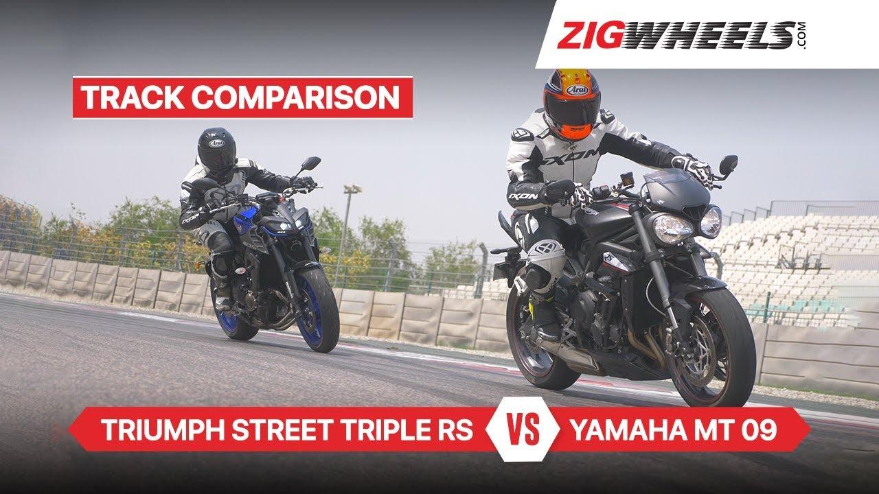 09 >> Yamaha Mt 09 Vs Triumph Street Triple Rs Comparison Review Zigwheels Com