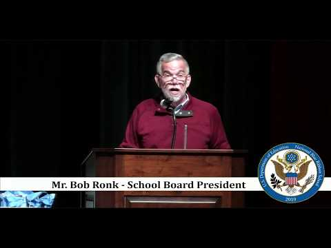 Winneconne Middle School National Blue Ribbon Award Ceremony