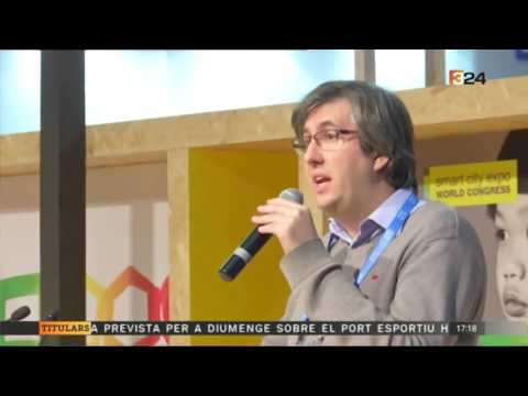 U-SMART TOYS Showcased TV3 Channel at Smart City Expo in Barcelona