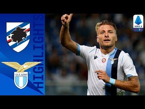 Sampdoria 0-3 Lazio   Immobile & Correa Goals Take Home the 3 Points for Lazio   Serie A