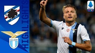 Sampdoria 0-3 Lazio | Immobile & Correa Goals Take Home the 3 Points for Lazio | Serie A