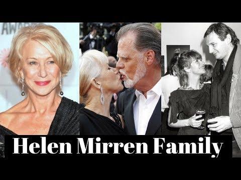 Helen Mirren Family Photos with Husband Taylor Hackford, Former Partner Liam Neeson, Nephew Simon