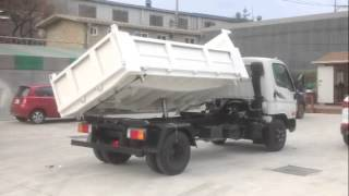 HYUNDAI HD78 3 way dump truck