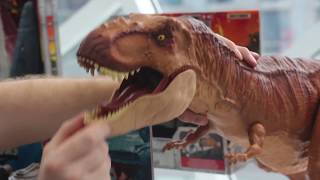 Jurassic World Fallen Kingdom Mattel  & Lego Toy Fair - First Look!
