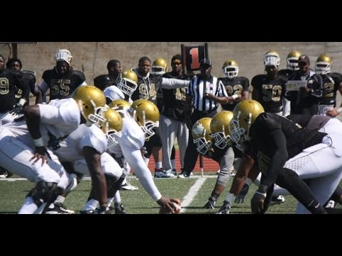 Alabama State Spring Football 4/2/16 practice clips