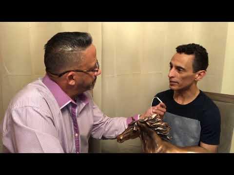 La entrevista al jinete JOHN VELAZQUEZ (EL CATEDRÁTICO)