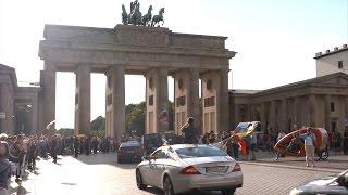 KenFM: Финиш Автопробега за мир Берлин-Москва в Берлине [Голос Германии]