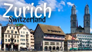 Zurich in one day (Switzerland Travel Guide) DAY 1