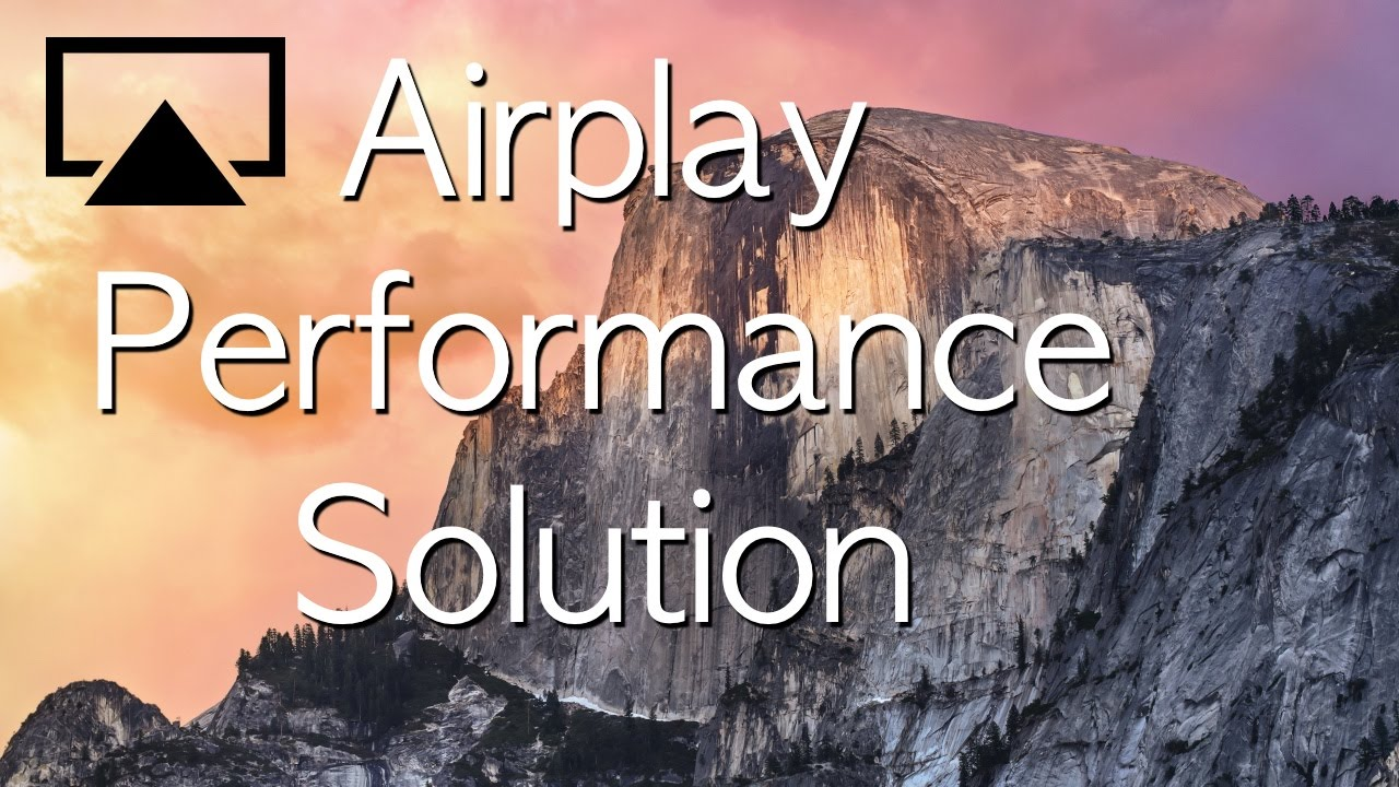Apple Tv Airplay Performance Problems Quick And Easy Fix For Apple