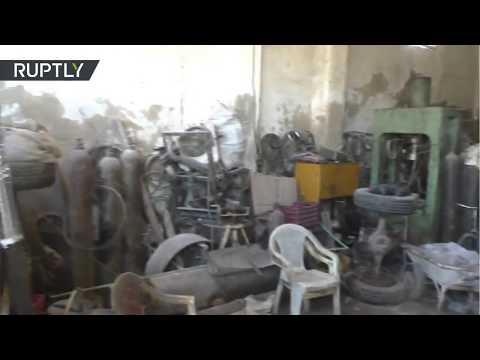 Así quedó el último baluarte del EI en la provincia siria de Homs