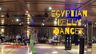 Egyptian Belly Dancer - Egypt - Nile Cruise - Cruise Ship Entertainment🚢