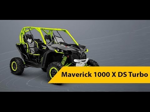 Обзор Can Am Maverick 1000 X DS Turbo