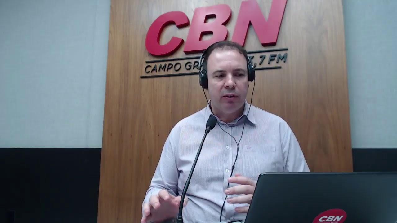 CBN Campo Grande (21/10/2020) - com Ginez Cesar