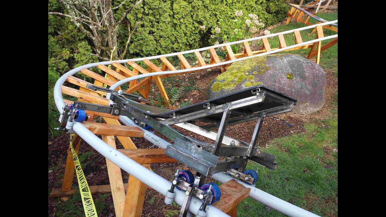 Backyard Roller Coaster BYRCv 08 R&D of Bogey Style 3D ...
