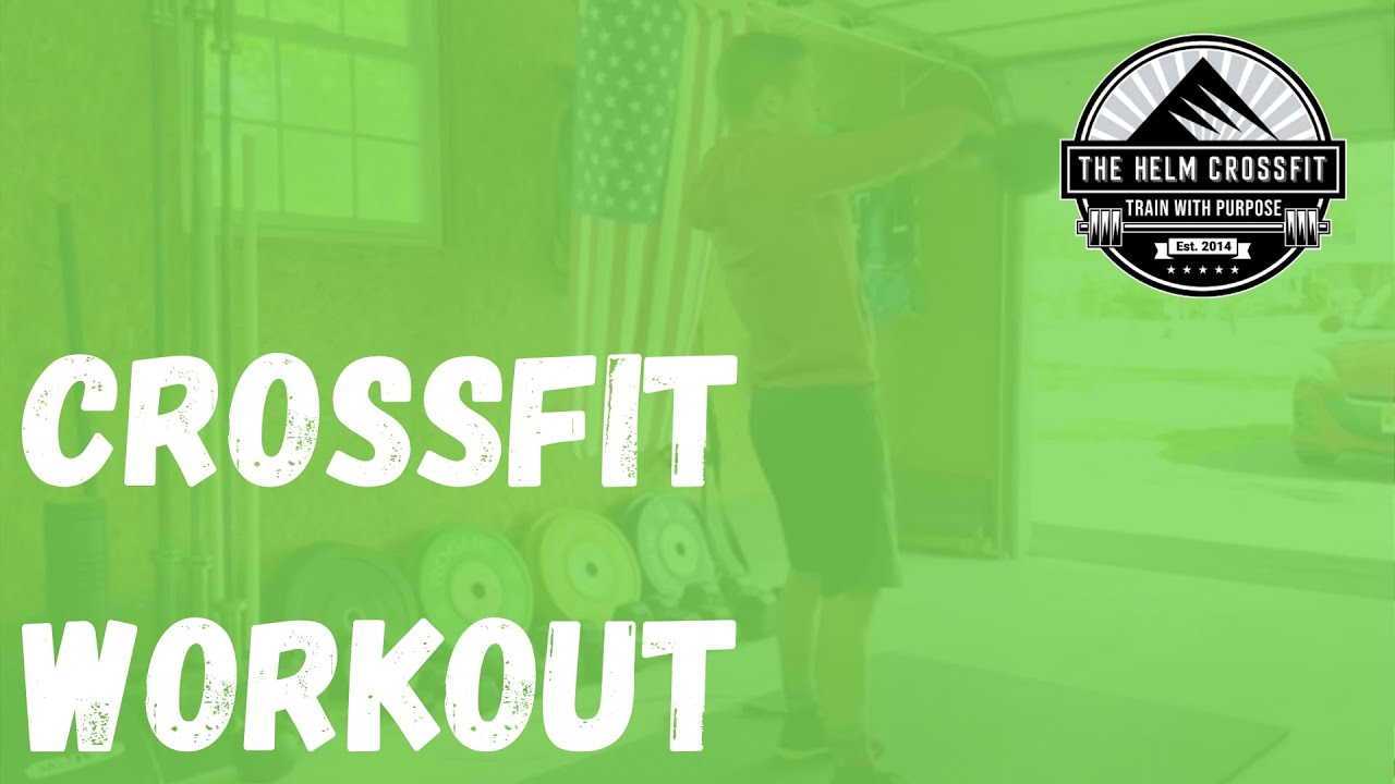 CrossFit Workout | Jump Rope | Swing | Leg Raise