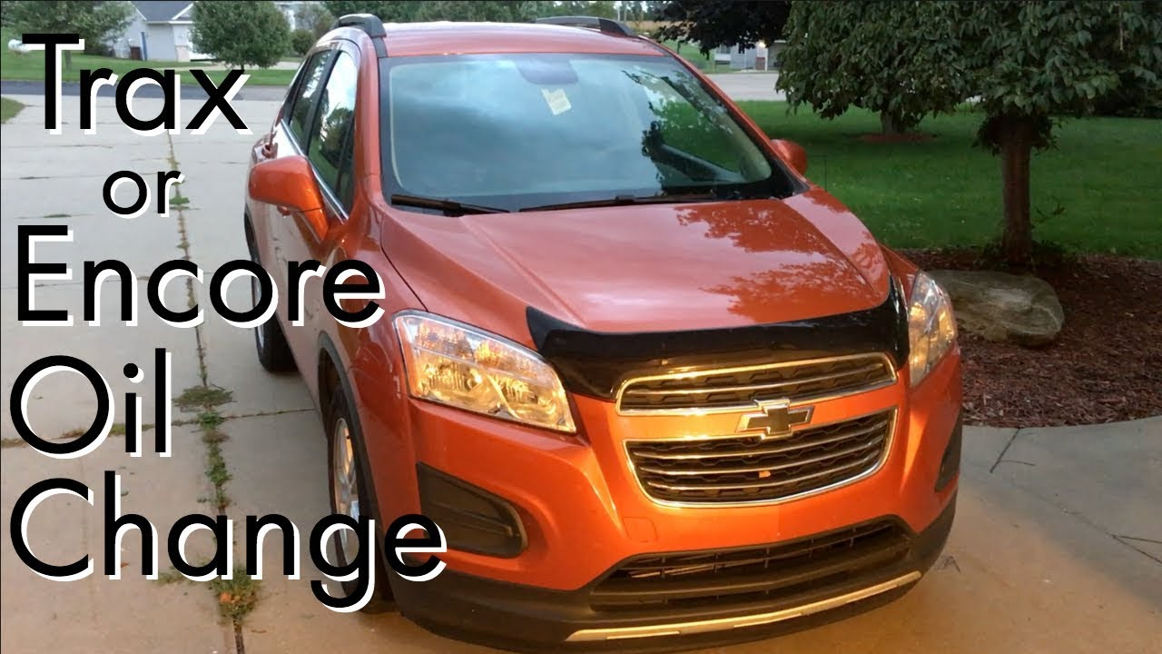 Chevy Trax Buick Encore Oil Change How To Diy Youtube