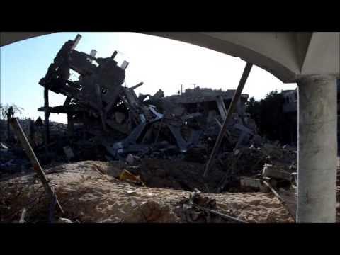 Surveying the Destruction of Shejaiya in Gaza