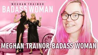 MEGHAN TRAINOR - BADASS WOMAN (REACTION) | Sisley Reacts