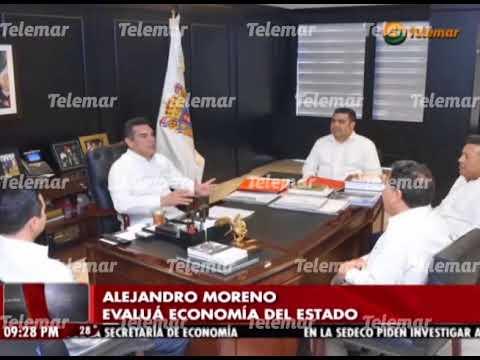 Alejandro Moreno evalúa programas de productividad y competitividad