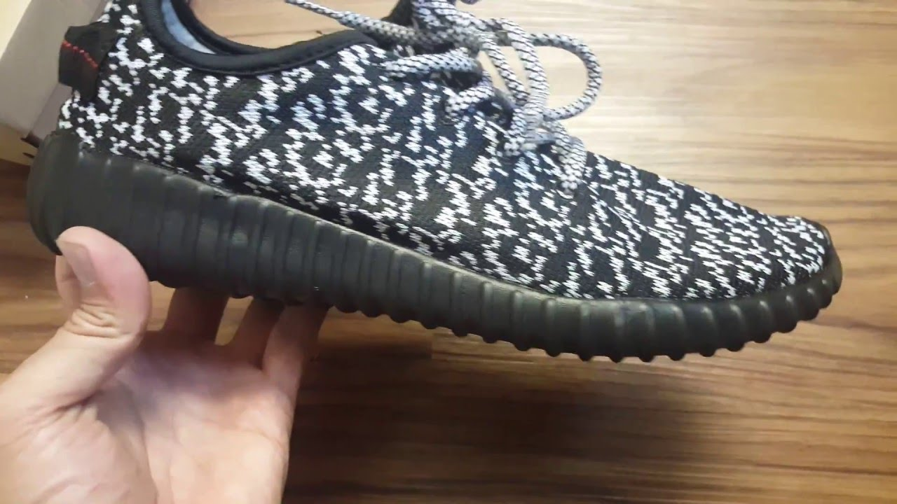BB 5350 Basf Adidas Yeezy Boost 350 Prite Black Final Version 4.0