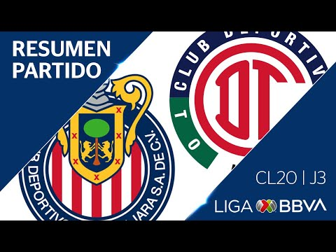 Resumen y Goles | Guadalajara vs Toluca | Jornada 3 - CL 2020 | Liga BBVA MX