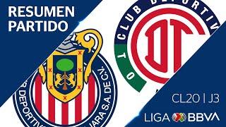 Resumen y Goles | Guadalajara vs Toluca...