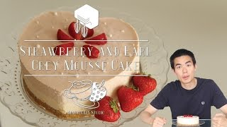 Martin Diy Studio - Strawberry And Earl Grey Mousse Cake
