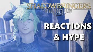 FFXIV - Shadowbringers Story Reactions (SPOILERS)